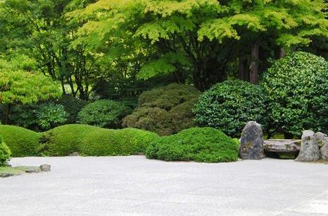 Японский сад камней - фото японского сада (4)