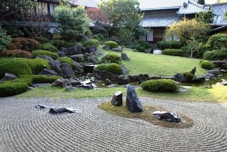 Японский сад камней - фото японского сада (5)