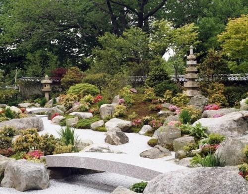 Японский сад камней - фото японского сада (8)