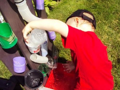 Игры для развития ребенка - на приусадебном участке (2)