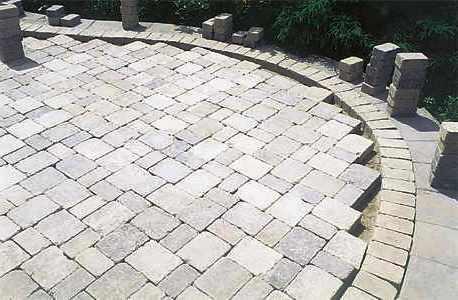 Дорожки на дачном участке - укладка тротуарной плитки (12)