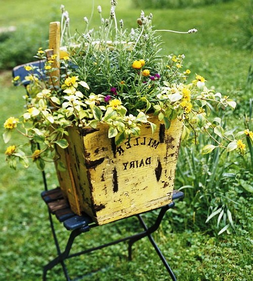 Оформление садов - винтажный стиль (4)