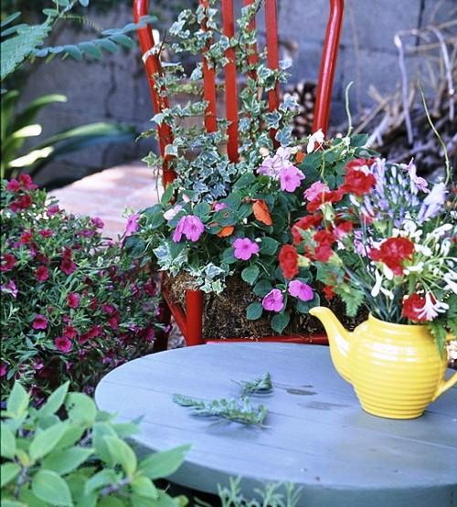 Оформление садов - винтажный стиль (12)
