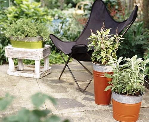 Оформление садов - винтажный стиль (14)