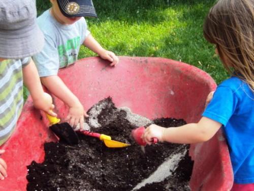 Фигуры из песка - или чем заняться с детьми (3)