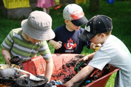 Фигуры из песка - или чем заняться с детьми (6)