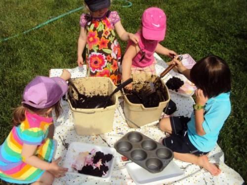 Фигуры из песка - или чем заняться с детьми (10)