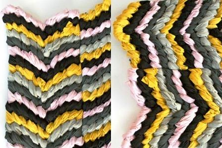 Как сделать коврик своими руками (6)