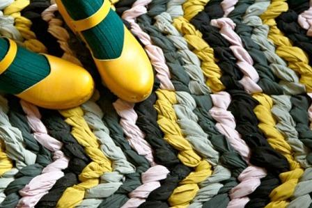 Как сделать коврик своими руками (7)
