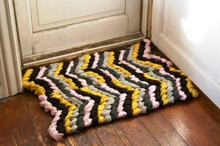 Как сделать коврик своими руками (8)