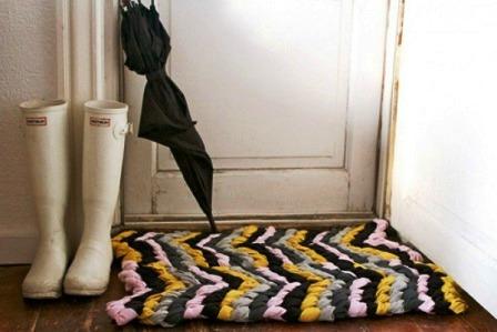 Как сделать коврик своими руками (1)