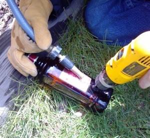 Лампа из бутылки (5)