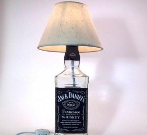 Лампа из бутылки (6)