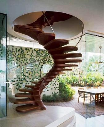 Фото винтовых лестниц (3)