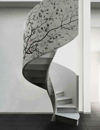 Фото винтовых лестниц (6)