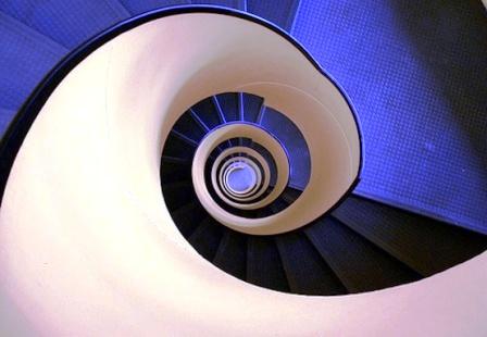 Фото винтовых лестниц (10)