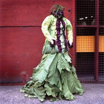 Одежда из растений для декора участка (10)
