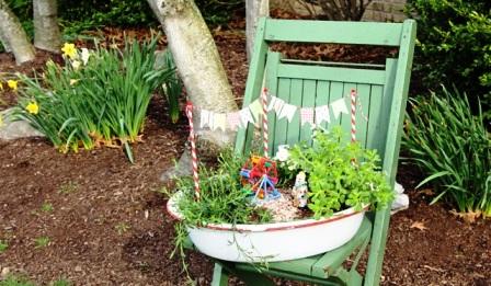 Как украсить свой двор (4)