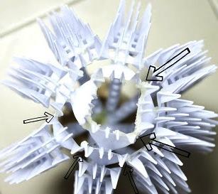 Поделки из пластмассовых вилок (3)