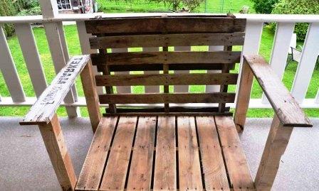 Как сделать деревянный стул (1)