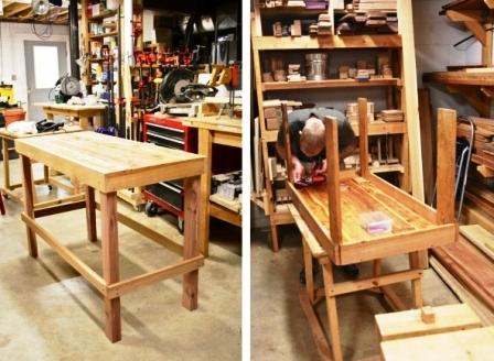 Как обновить стол своими руками (6)