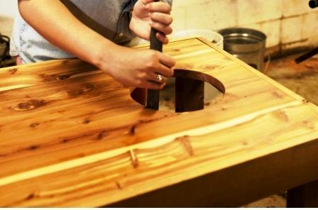 Как обновить стол своими руками (12)
