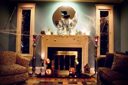 Украшения дома на Хэллоуин (3)