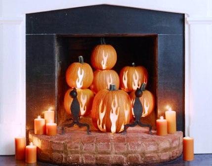 Украшения дома на Хэллоуин (4)