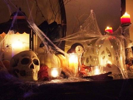 Украшения дома на Хэллоуин (7)