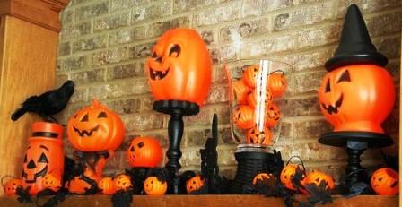 Украшения дома на Хэллоуин (14)