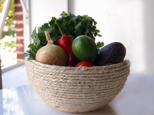 Ваза для фруктов своими руками (7)