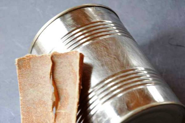 Как сделать вазу из банки (2)