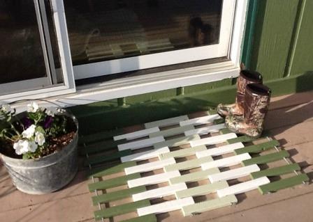 Деревянный коврик (3)