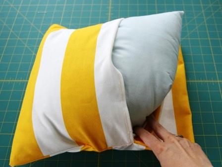 Наволочка на подушку своими руками (9)