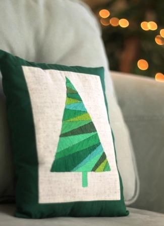 Новогодние подушки своими руками (2)
