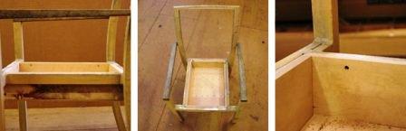 Как сделать из стула кресло (6)