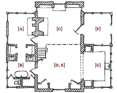 Загородный деревянный дом (7)
