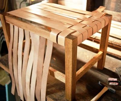 Как сделать плетеный стул (9)