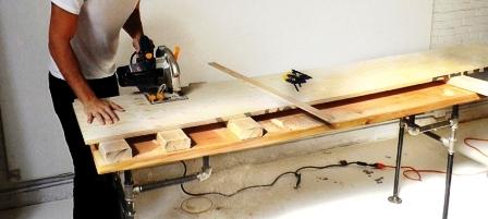 Как сделать скамейку из дерева (3)