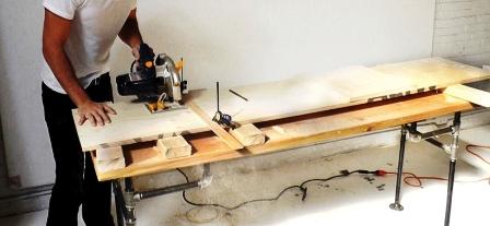 Как сделать скамейку из дерева (5)