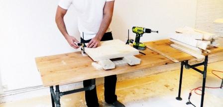 Как сделать скамейку из дерева (7)