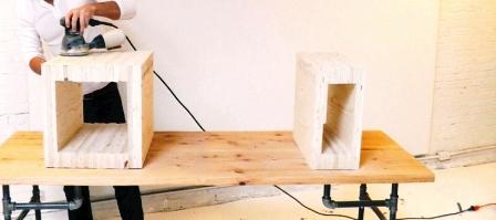 Как сделать скамейку из дерева (10)