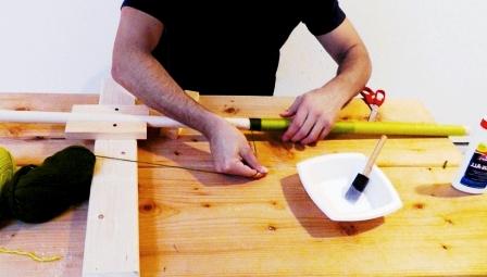 Как сделать скамейку из дерева (15)