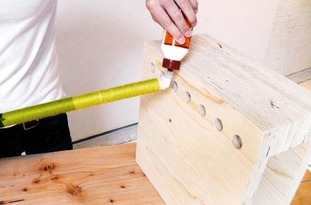 Как сделать скамейку из дерева (16)