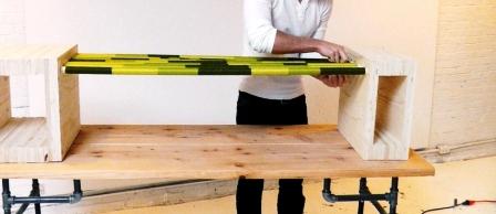 Как сделать скамейку из дерева (18)