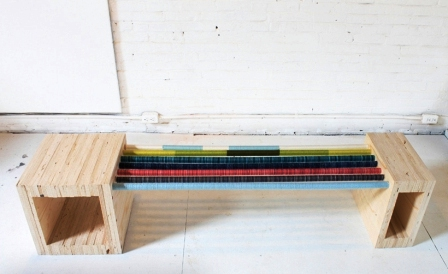 Как сделать скамейку из дерева (20)