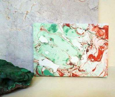 Картина под мрамор своими руками (10)