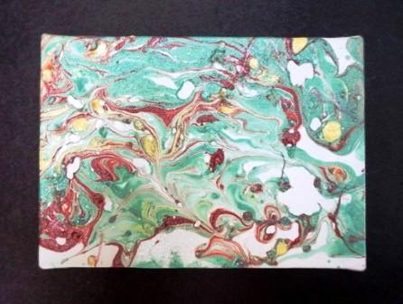 Картина под мрамор своими руками (7)
