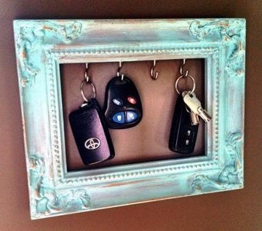 Вешалка для ключей своими руками (1)