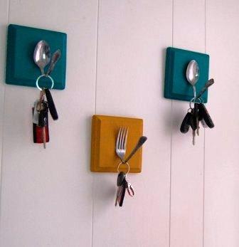 Вешалка для ключей своими руками (10)